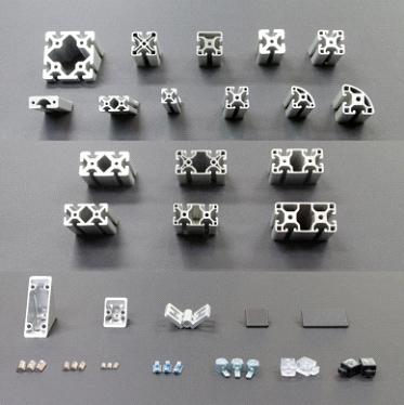 Aluminium Profiles & Accessories - Asteem